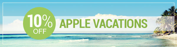 10% off Apple Vacations